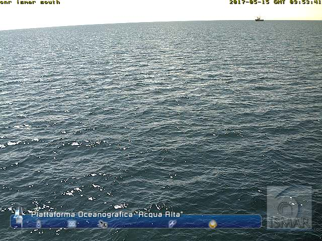 Webcam Venezia Piattaforma Oceanica