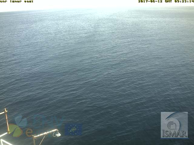webcam piattaforma acqua alta del cnr